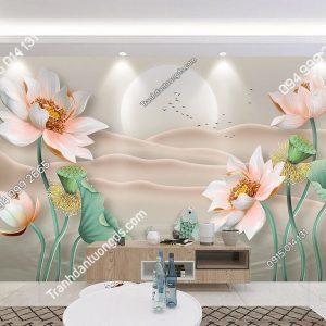 Tranh dan tuong hoa sen ca chep DS_20284988