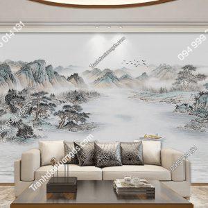 Tranh dan tuong thuy mac nui song DS_17505622 phong khach