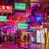 Tranh dán tường HONGKONG