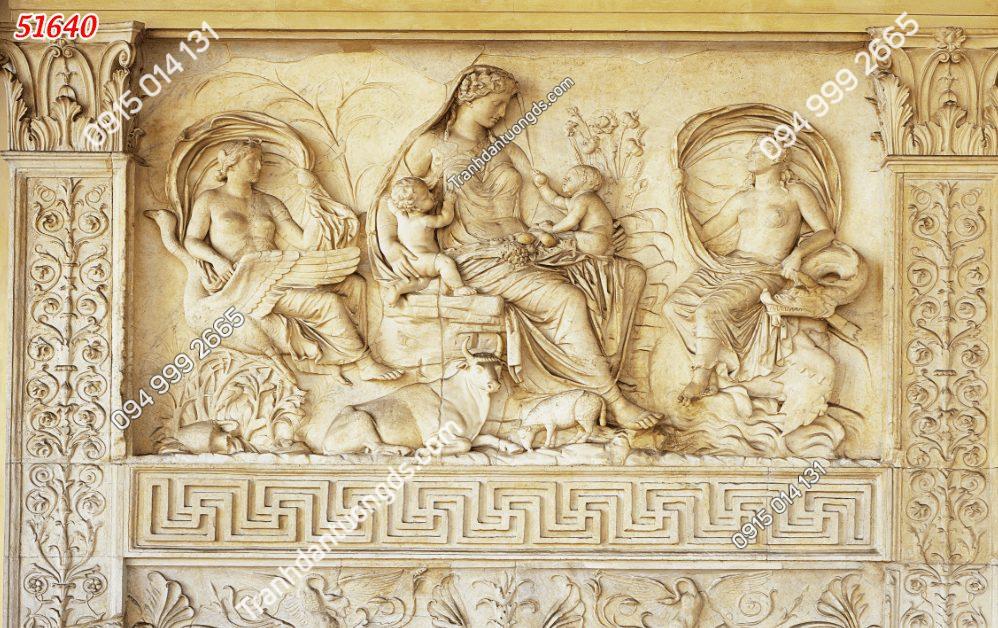Tranh dán tường điêu khắc đức mẹ 51640