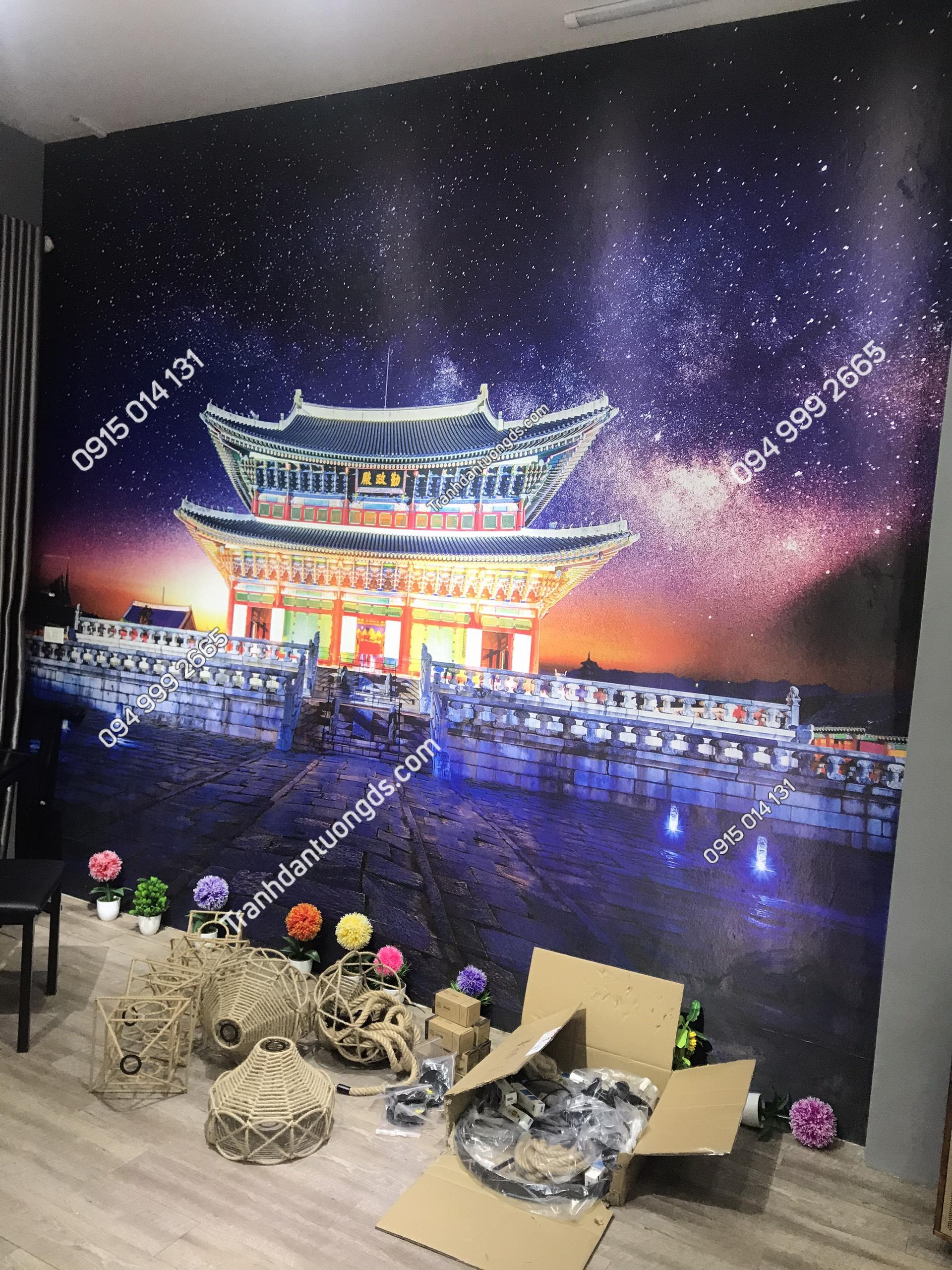 Ảnh tranh dán tường Hàn Quốc