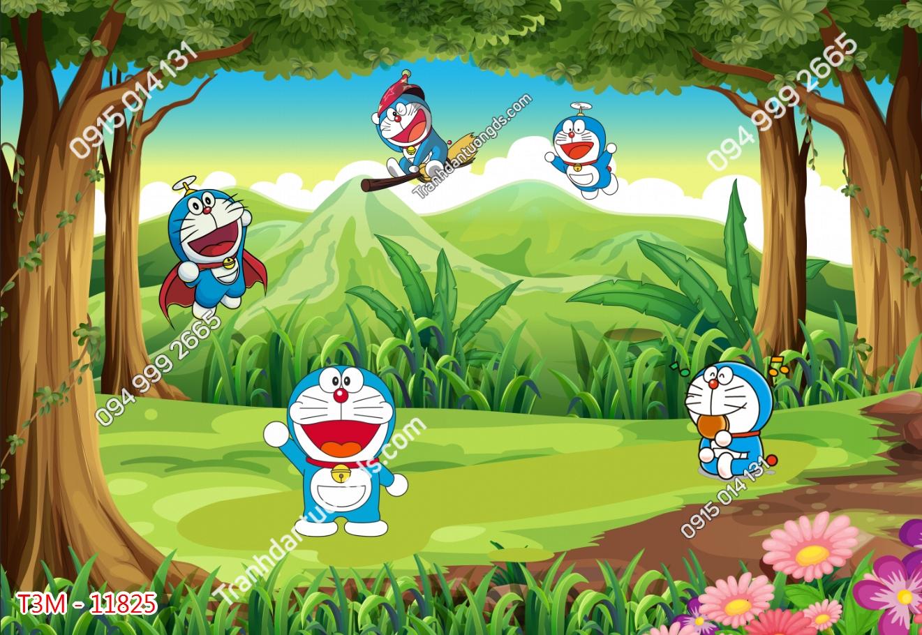 Tranh dán tường Doraemon - 11825 demo