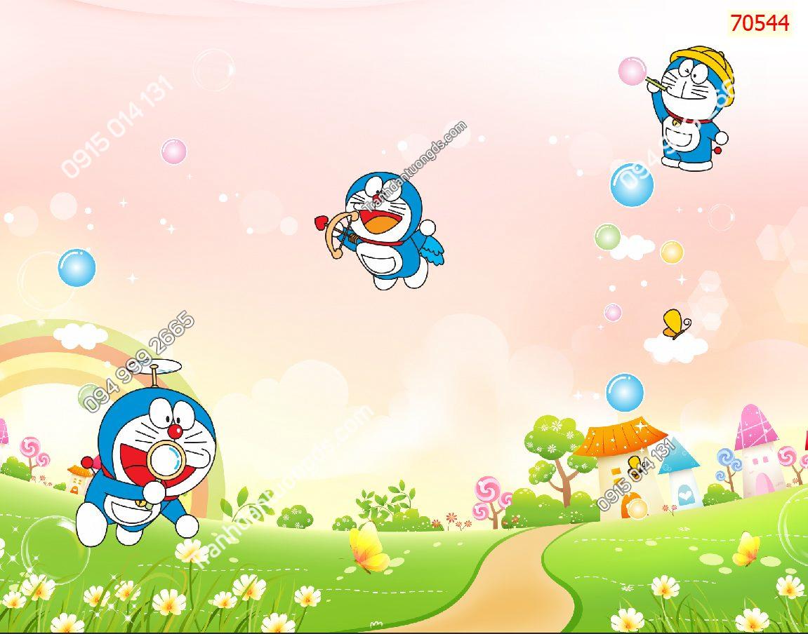 Tranh dán tường Doraemon 70544