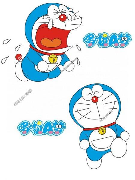 Tranh dán tường Doraemon TE203