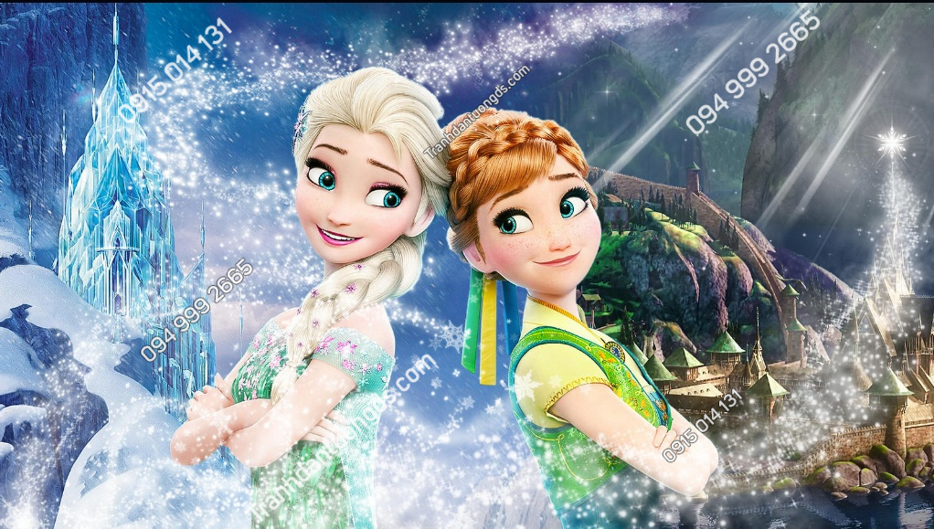 Tranh dán tường Elsa of Arendelle 3