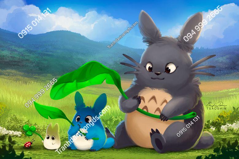 Tranh dán tường Totoro