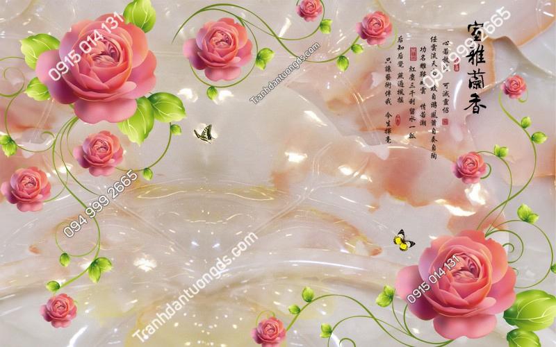 Tranh-dan-tuong-hoa-hong-3D-2561