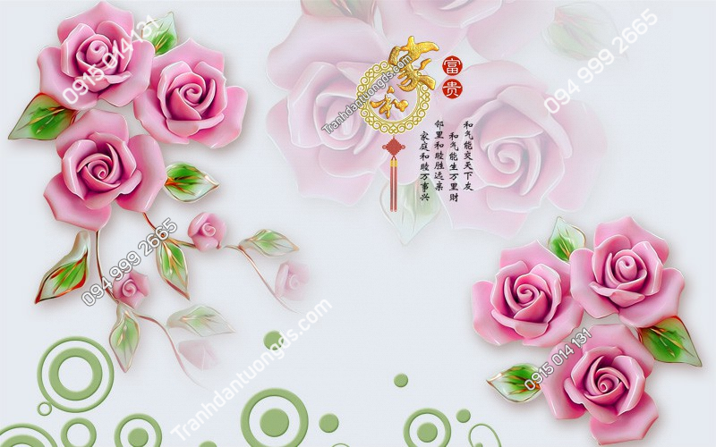 Tranh-dan-tuong-hoa-hong-3D-2562