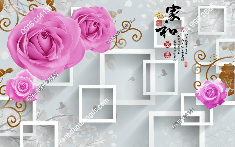 Tranh-dan-tuong-hoa-hong-3D-2643