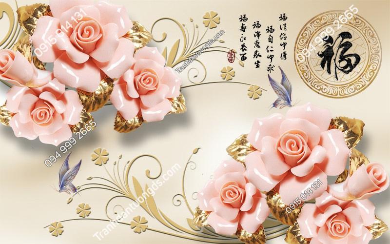 Tranh-dan-tuong-hoa-hong-3D-2775