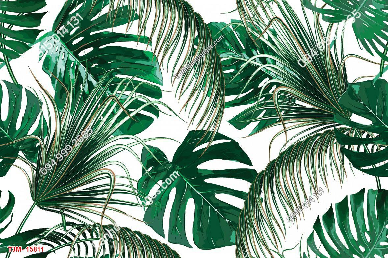 Tranh dán tường tropical 15811 DEMO