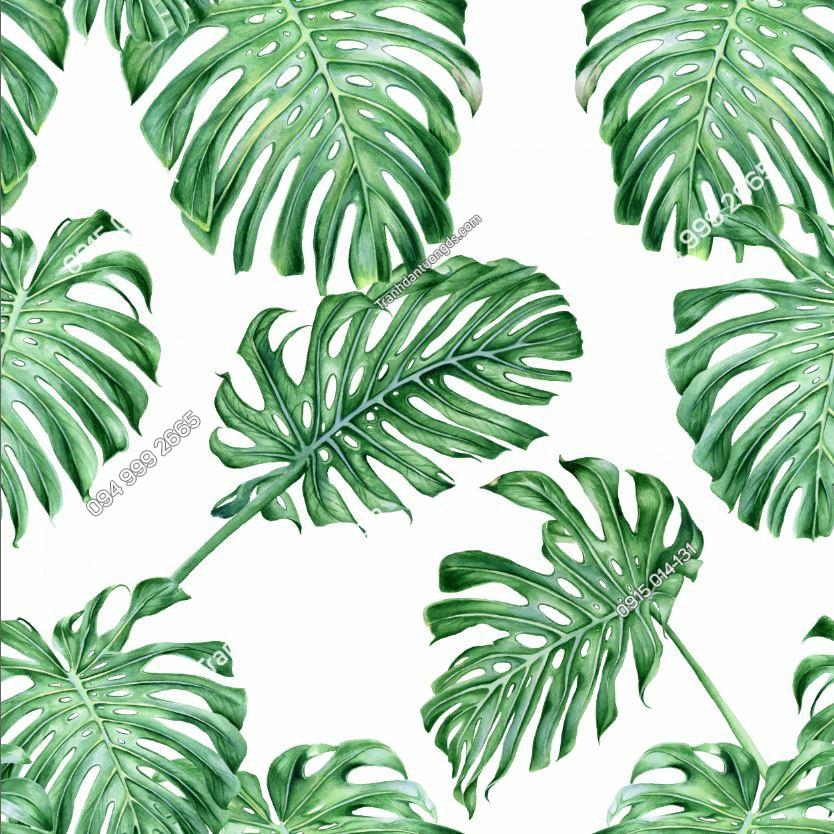 Tranh dán tường tropical - 15831 DEMO