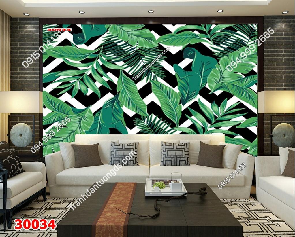 Tranh dán tường tropical 30034 Demo
