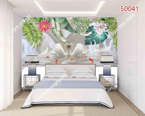 Tranh dán tường tropical 50041 DEMO