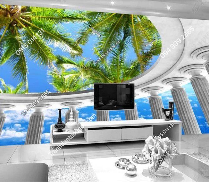 Tranh phòng khách đẹp chất - DS12627533