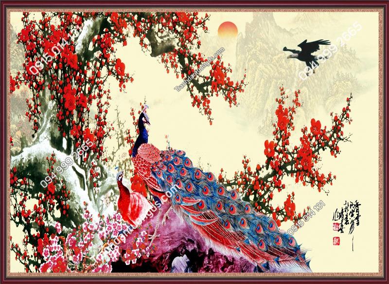 Tranh-dan-chim-cong-hoa-do-1483