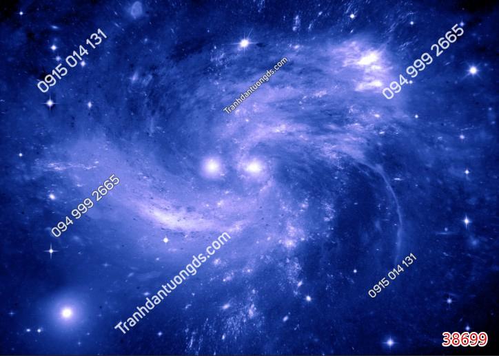 Tranh dán trần galaxy 38699