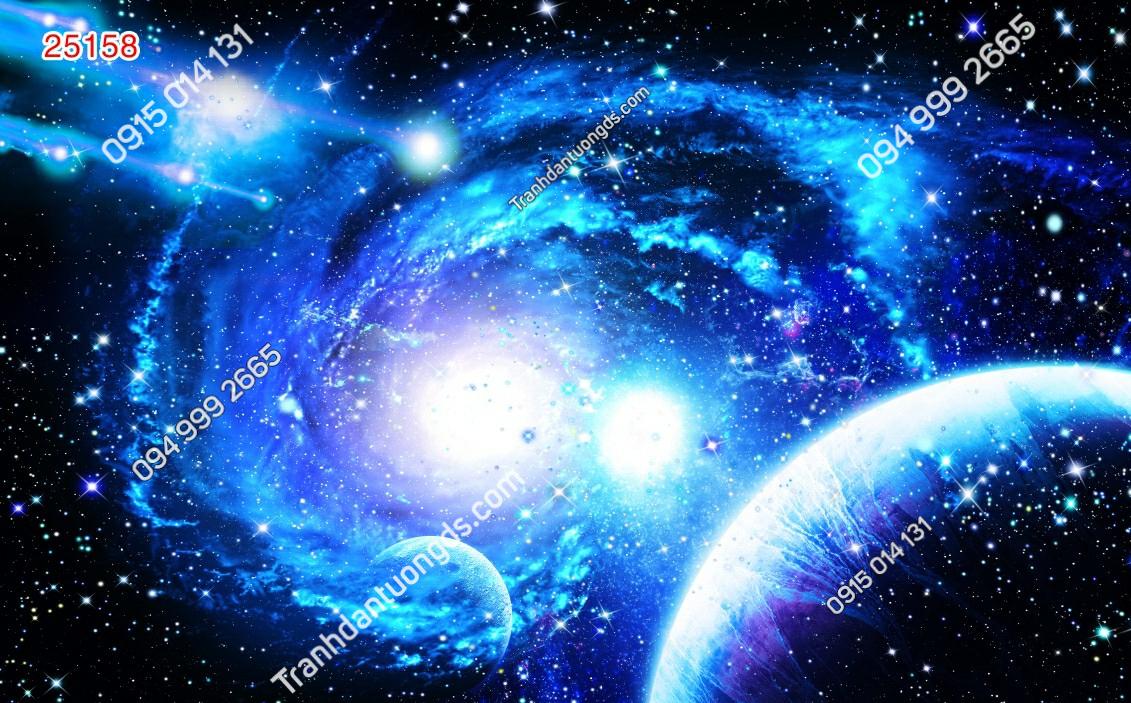 Tranh dán trần ngân hà - 25158