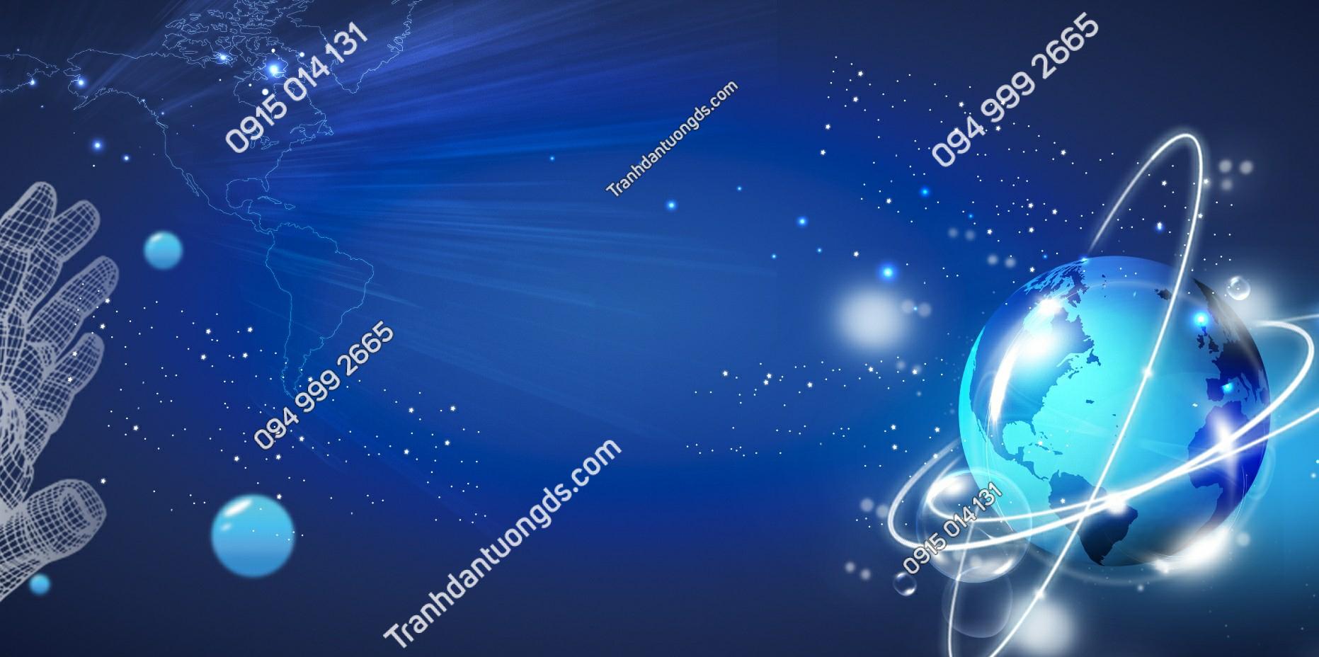 Tranh dán trần thiên hà - 11561 demo