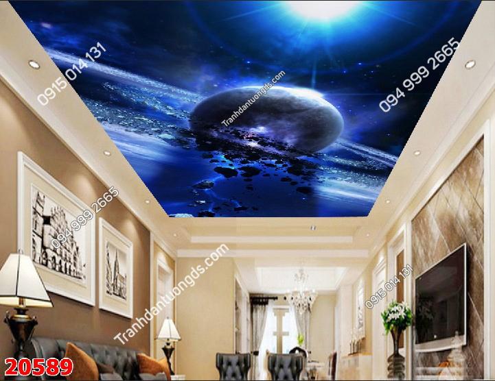Tranh dán trần thiên hà 20589 demo