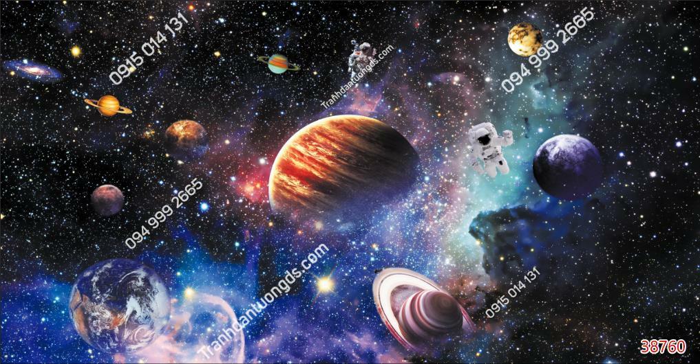 Tranh dán trần thiên hà 38760