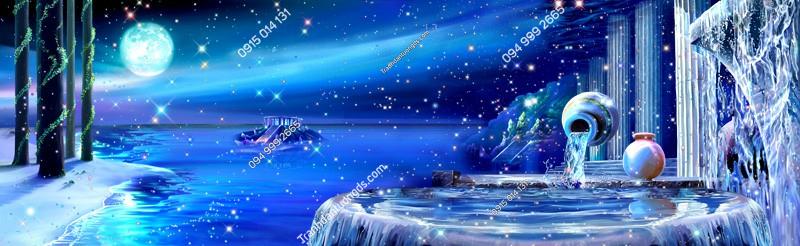 Tranh dán trần thiên hà 3d - (2331)