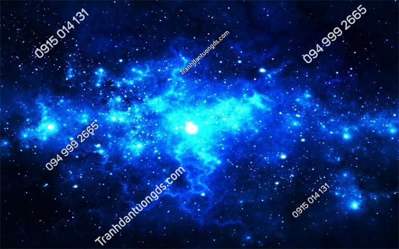 Tranh dán trần thiên hà 3d (2335)