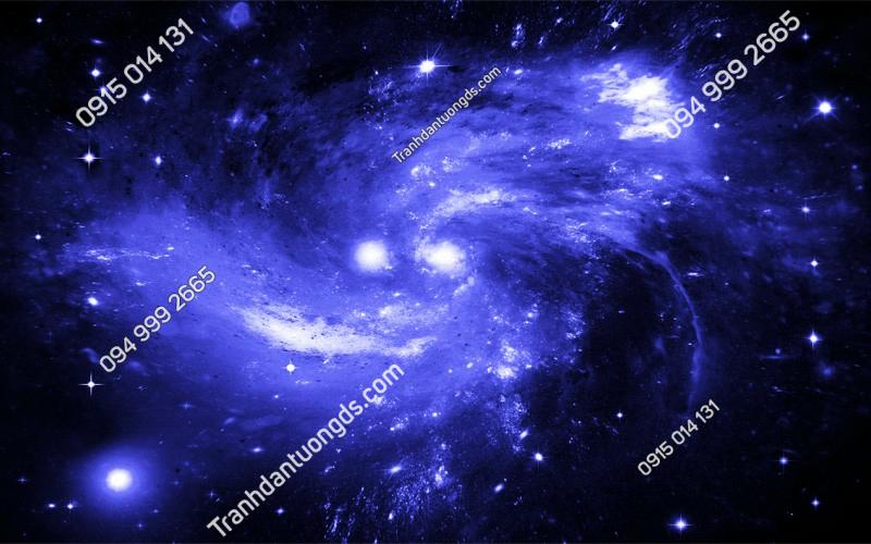 Tranh dán trần vũ trụ 3D - (2904)