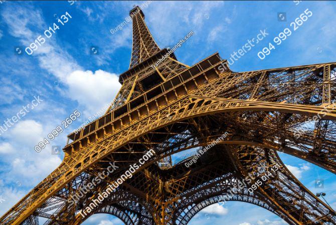 Tranh dán tường chân tháp Eiffel ST_220119106