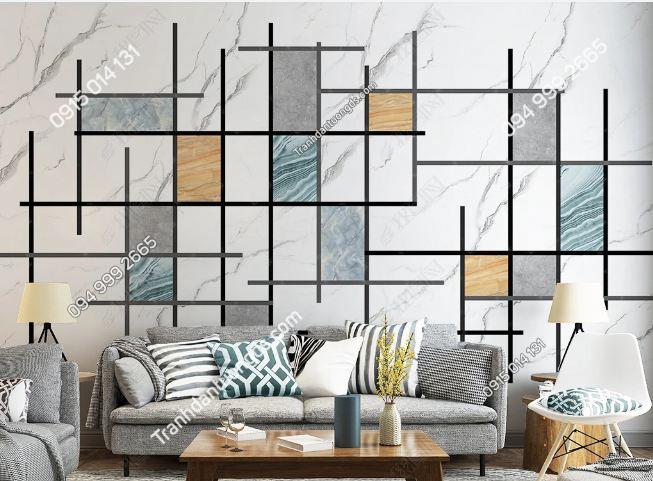 Tranh dán tường hình chữ nhật hiện đại 23759520