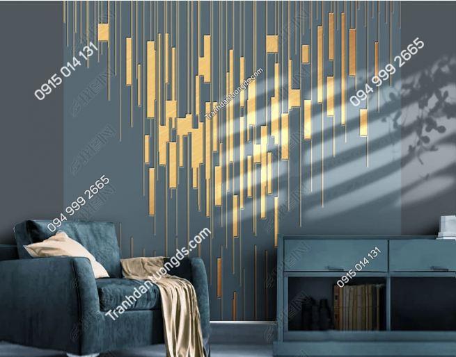 Tranh dán tường hình học hiện đại 25097471