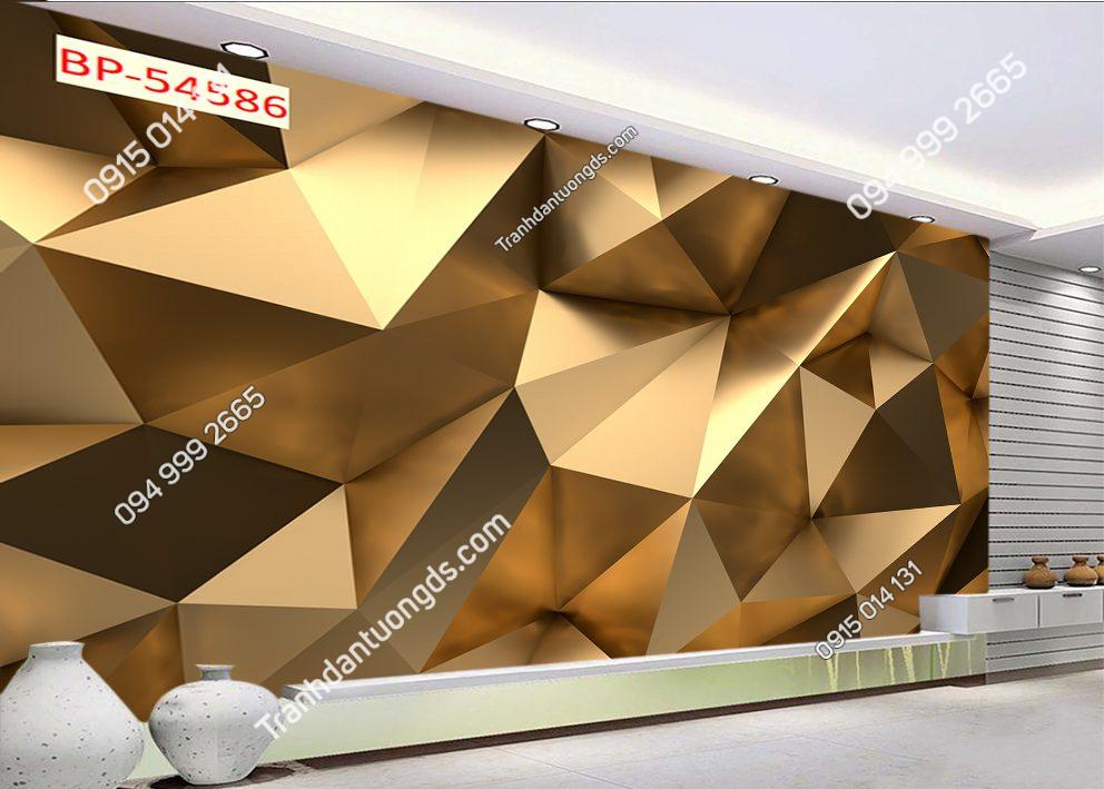 Tranh dán tường khối đa giác 3 chiều 54586