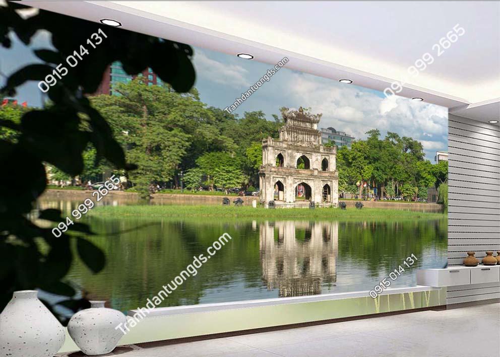 Tranh-dan-tuong-thap-Rua-Ha-Noi-dam-phong-khach-HNX43