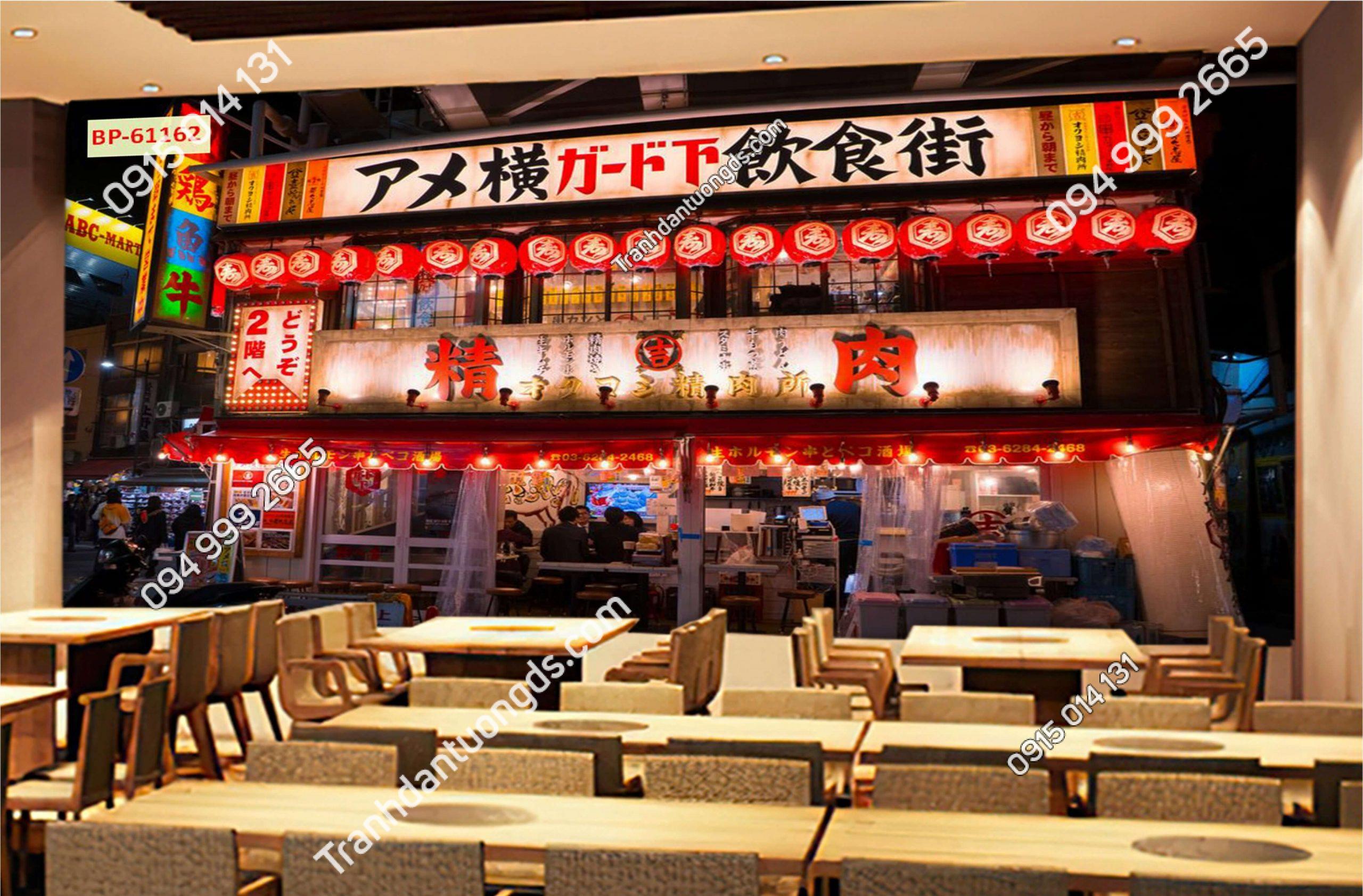 Tranh nhà hàng hongkong đẹp