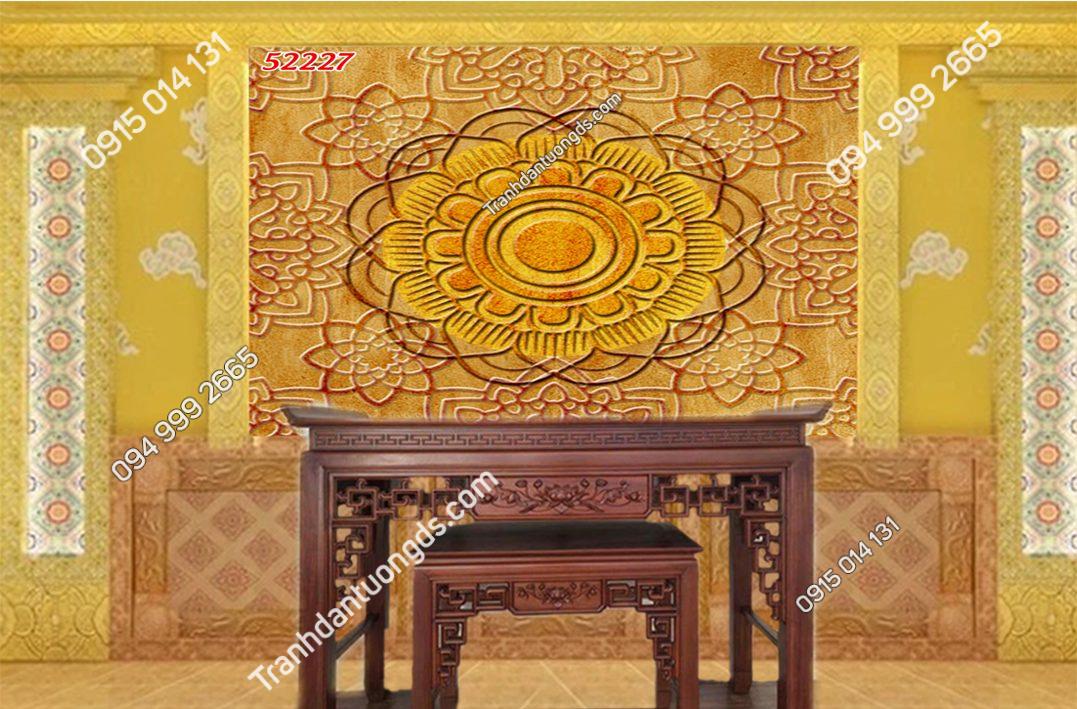 Tranh trúc chỉ Mandala 52227