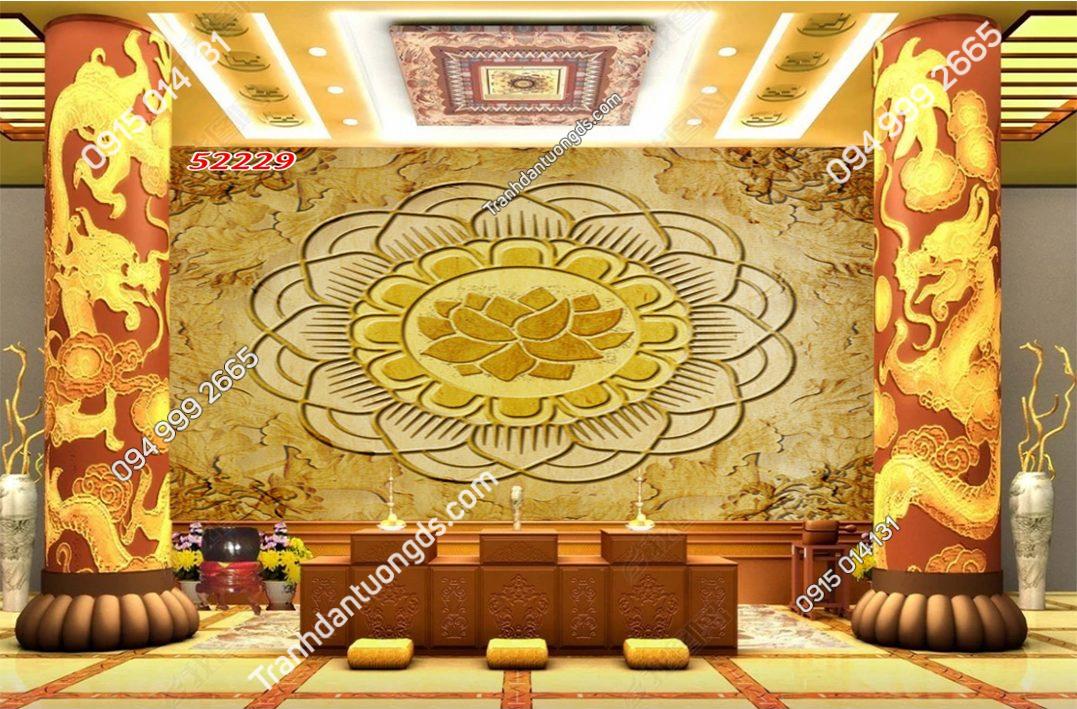 Tranh trúc chỉ Tranh trúc chỉ Mandala 52229