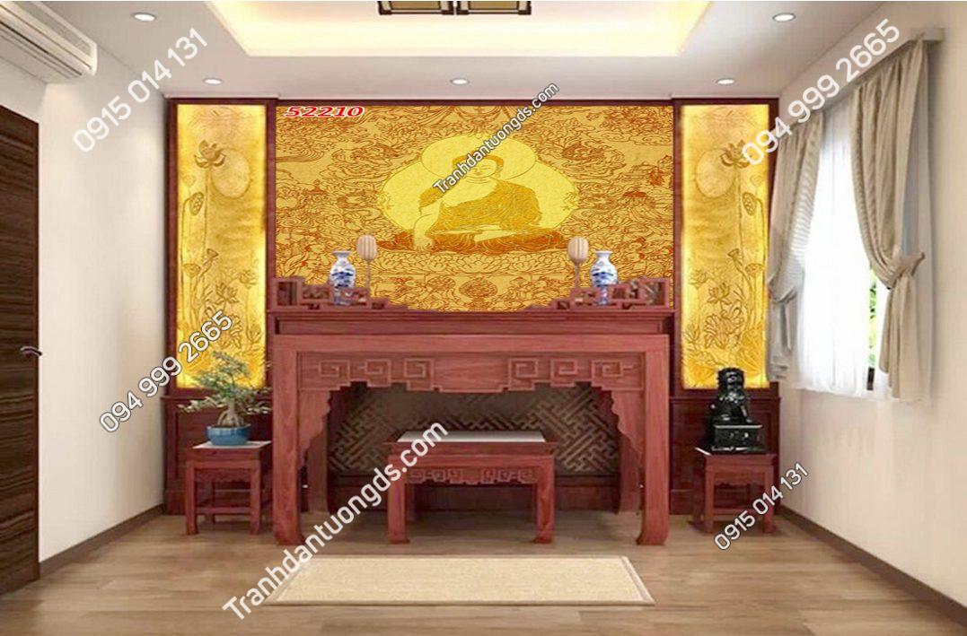 Tranh trúc chỉ bàn thờ gia tiên 52210