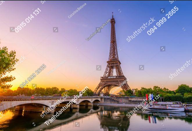 Tranh tường tháp Eiffel 1517605952