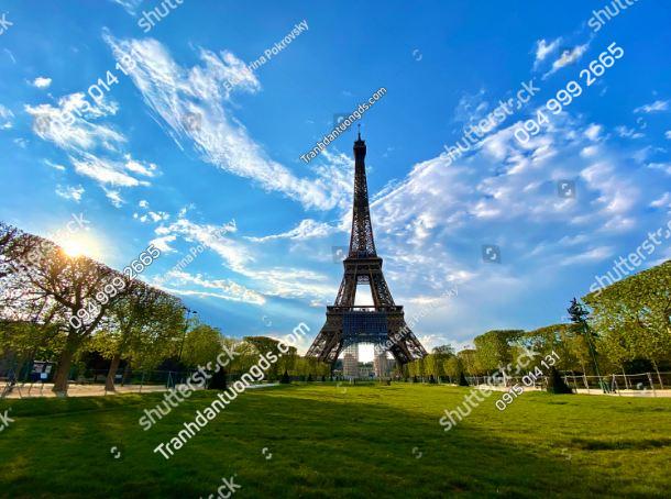 Tranh tường tháp Eiffel 1705242580