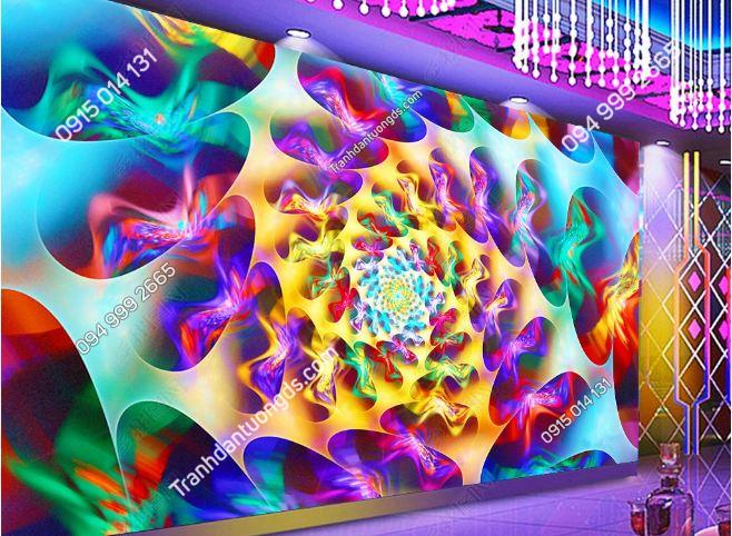 Tranh 3D cho quán bar karaoke DS_17980733