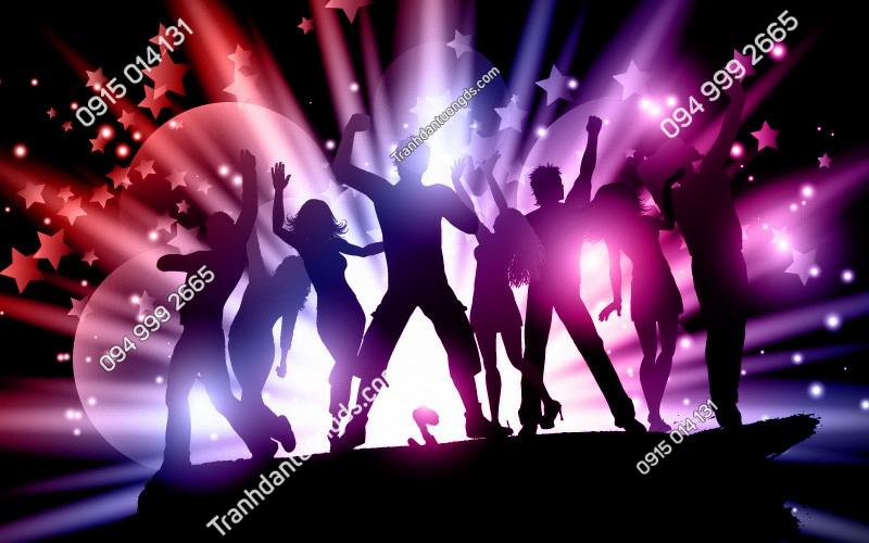 Tranh ROCK MUSIC cho quán bar karaoke- (303)