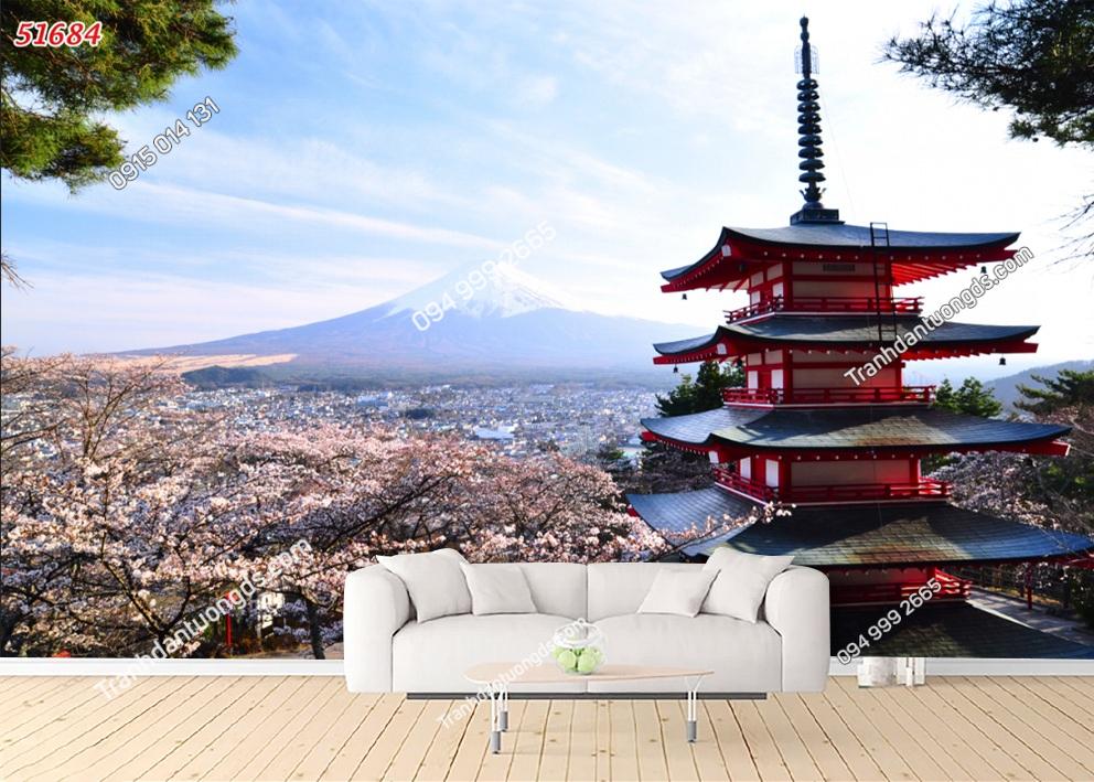 Tranh chùa Nhật Bản 51684