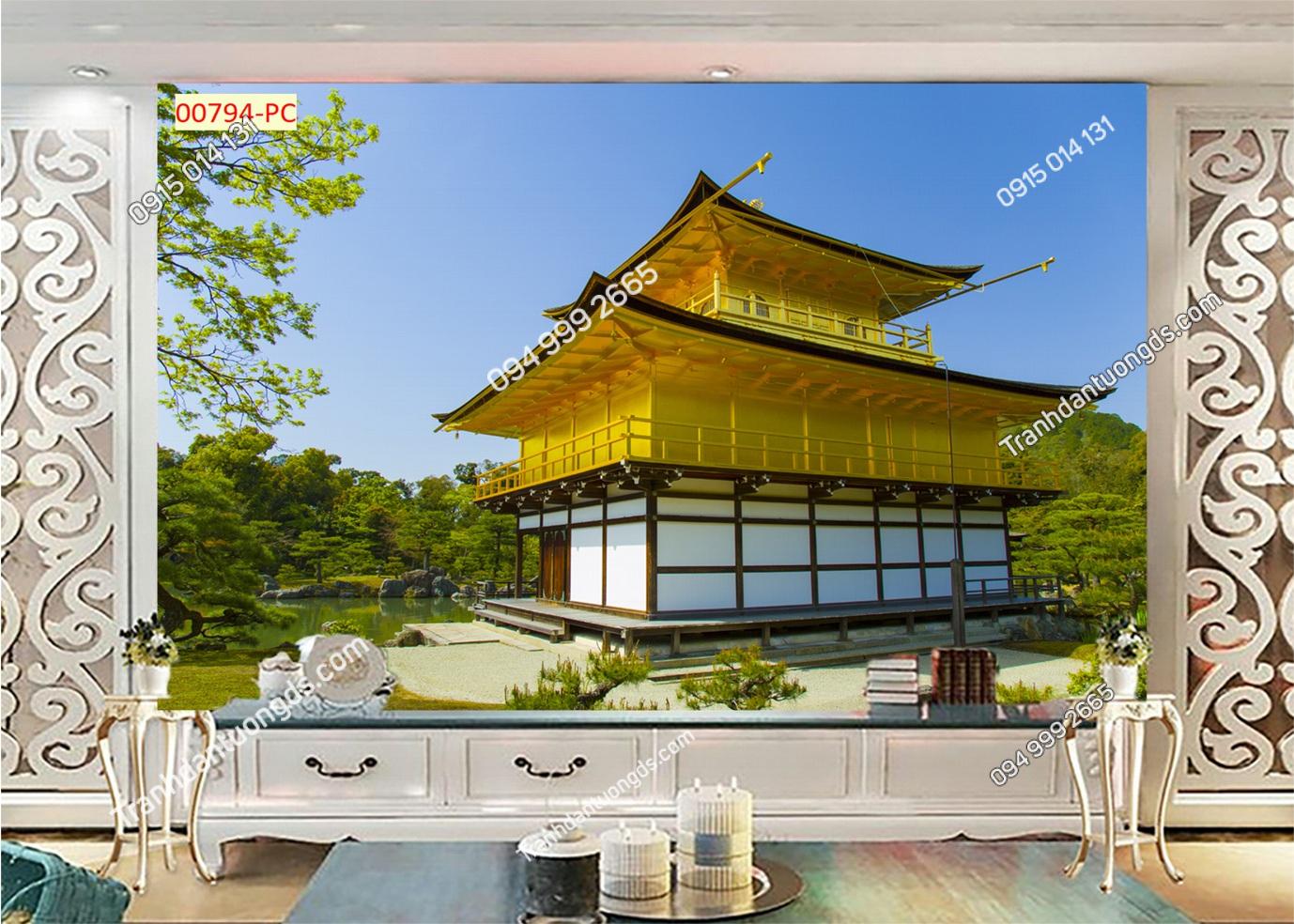 Tranh chùa Nhật bản 00794