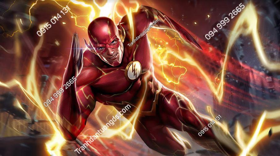 Tranh dán tườn tiệm game flash-arena-of-valor