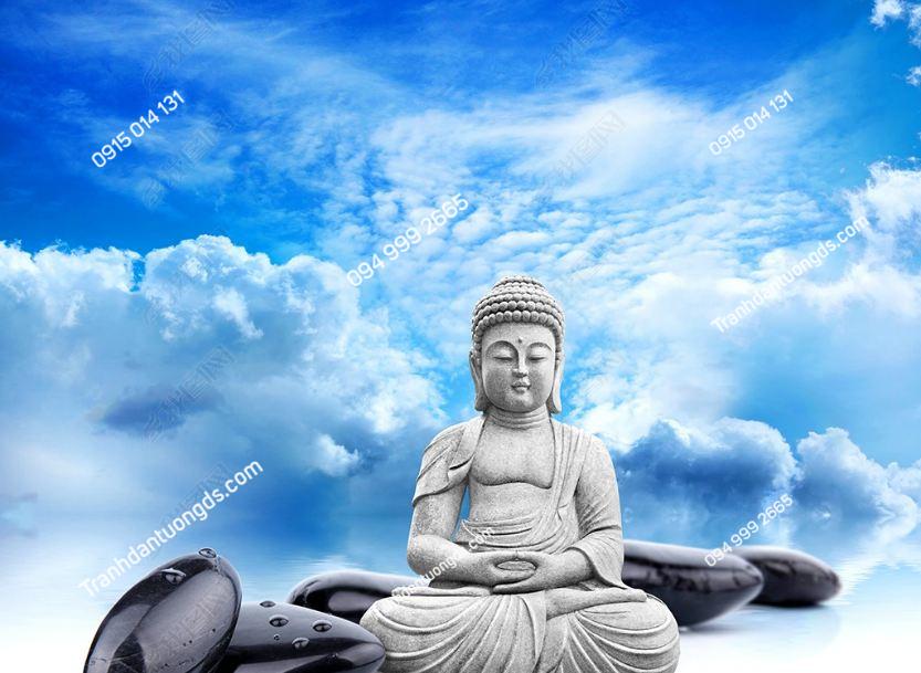 Tranh dán tường phật phong cách Thái Lan DS_15229442