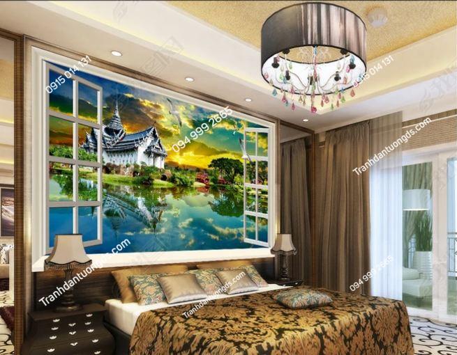Tranh dán tường phong cách Thái Lan DS_13862326