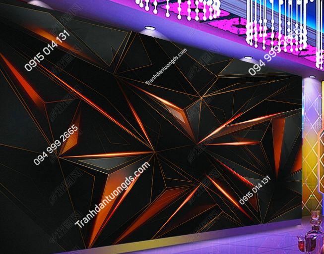Tranh khối 3D cho quán bar karaoke DS_17464210