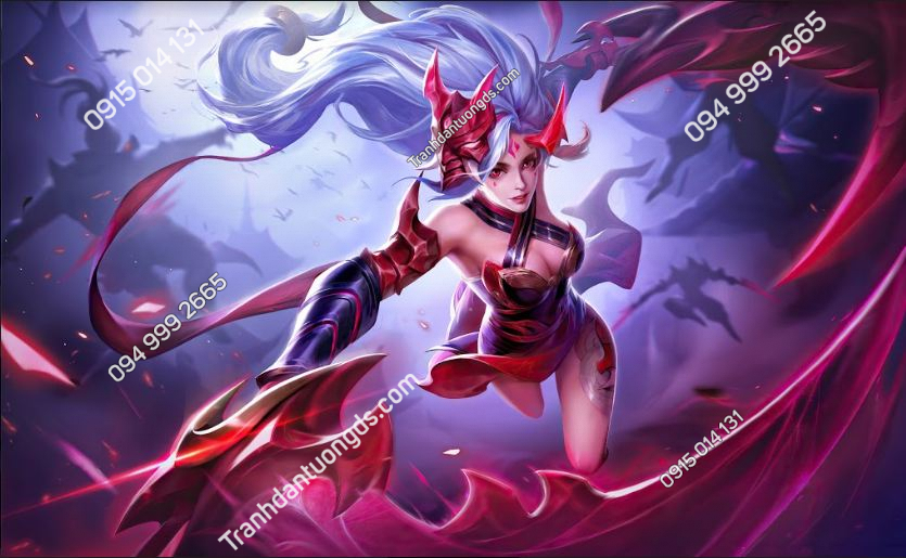Tranh phòng game yena-arena-of-valor