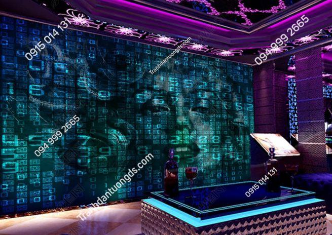 Tranh số học IT cho quán bar karaoke DS_19157744