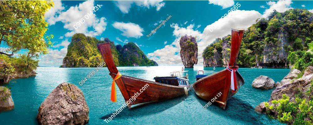 Tranh tường cảnh sáng Phuket Seascape 688810990